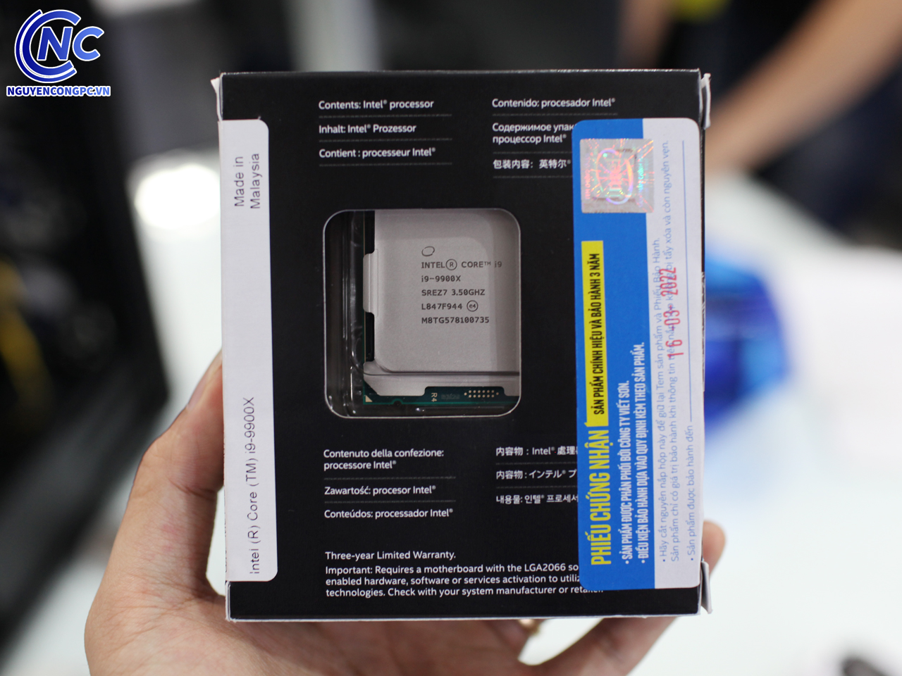 CPU Intel Core i9 9900X