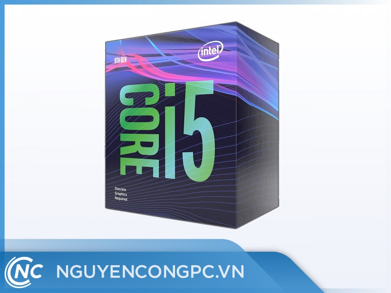 CPU Intel Core i5 9400 2.9 GHz turbo up to 4.1 GHz /6 Cores 6 Threads