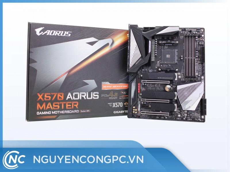 Mainboard Gigabyte X570 AORUS MASTER