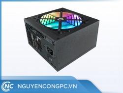 Nguồn Jetek P600 600W (Màu Đen/Led RGB )
