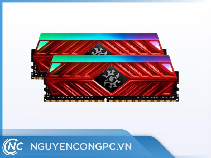 Ram Adata DDR4 8Gb bus 3000Mhz D41 Heatsink LED RGB