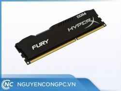 Ram DDR4 Kingston HyperX Fury Black 8G/2666