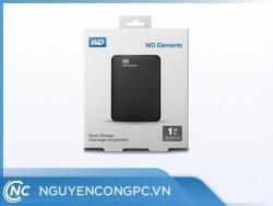Ổ cứng di động Western Digital Elements 1TB