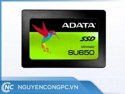 Ổ cứng SSD Adata SU650 240Gb SATA3 (đọc: 520MB/s /ghi: 450MB/s)