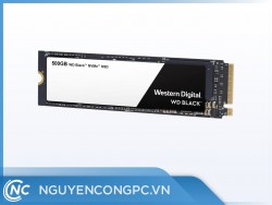 SSD M.2 NVMe Western Digital WD Black 500GB