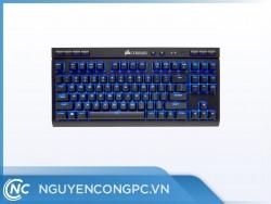 Bàn phím không dây Corsair K63 Wireless - Blue LED - MX Red
