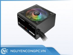 PSU Thermaltake Smart RGB 600W 80 Plus White