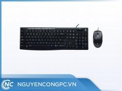Bộ Bàn phím + Mouse Logitech MK200