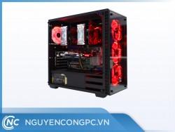BỘ PC WORKSTATION DUAL XEON E5-2689 / 32GB / VGA RX550 4GB
