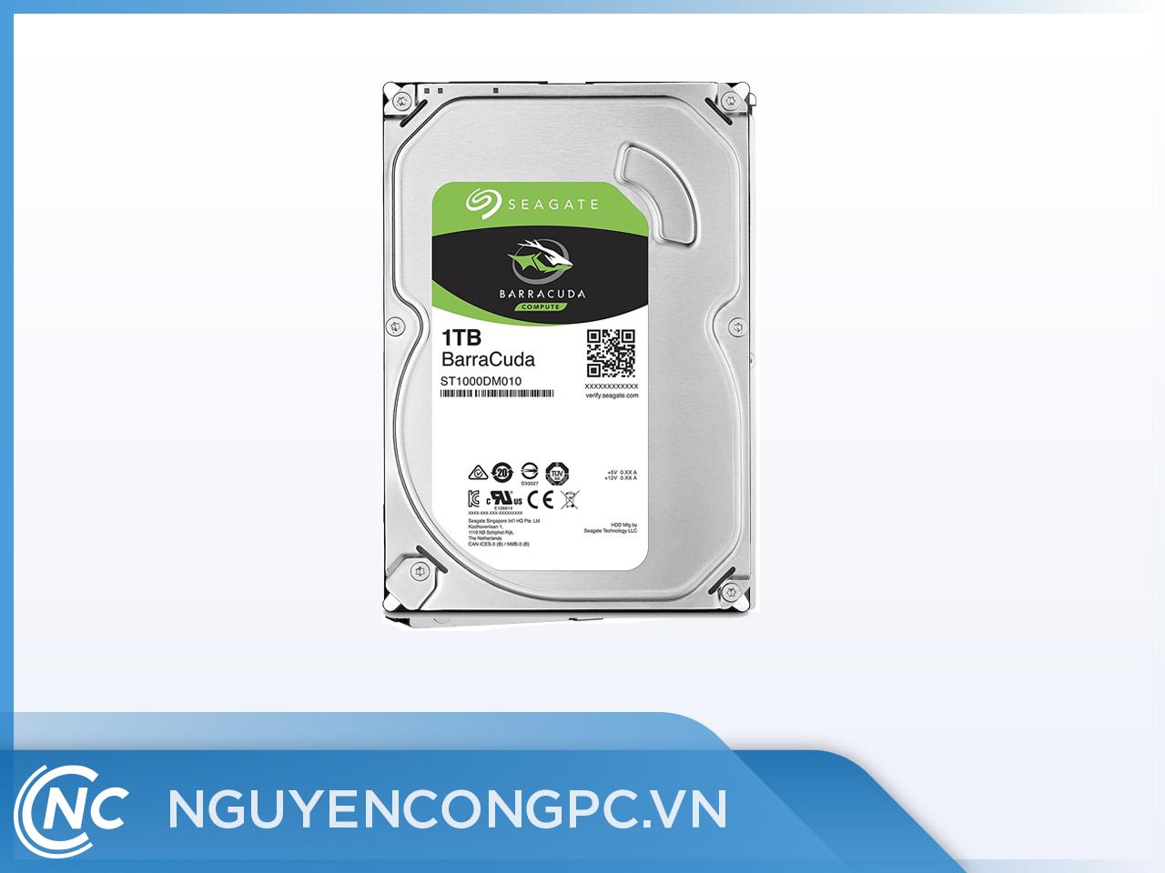 ổ cứng HDD Seagate 1TB 7200rpm, Sata3 64MB Cache
