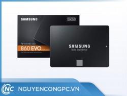 """Ổ cứng SSD Samsung 860 EVO 500GB SATA3 6Gb/s 2.5"""" - Chính hãng Samsung Việt Nam - BH 5 năm"""
