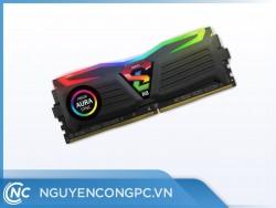 Ram GEIL SUPER LUCE RGB SYNC 8GB (1x8GB) 3000Mhz DDR4 Black