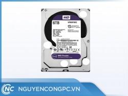 Ổ Cứng Western Digital Purple 6TB 64MB Cache (WD60PURZ)