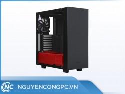 Vỏ case máy tính NZXT S340 Elite Matte Black/Red Mid Tower