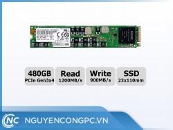 Ổ cứng SSD Samsung SM963 NVMe M2 PCIe 22110 - 480GB