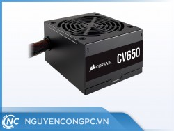Nguồn máy tính Corsair CV650 80 Plus Bronze (CP-9020211-NA)