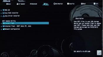 Hướng dẫn update BIOS cho bo mạch chủ ASRock