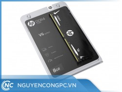 RAM HP V6 DDR4 8GB Bus 3600MHz Black