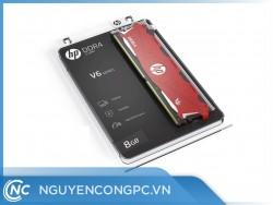 RAM HP V6 DDR4 8GB Bus 2666MHz Red