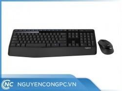 Bộ bàn phím chuột khônng dây Logitech MK345 Wireless