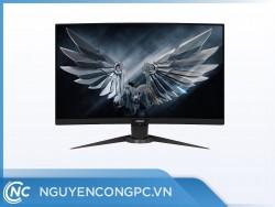 Màn hình Gigabyte Aorus CV27F (27 inch/FHD/VA/165Hz/1ms/350cd/m²/DP+HDMI/Màn hình cong)