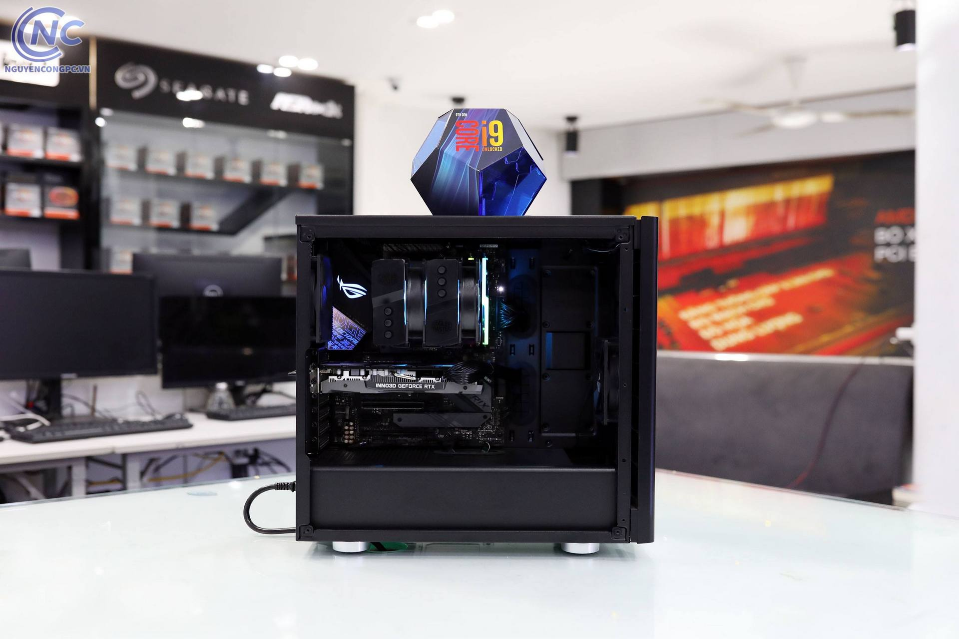 PC Intel Core i9 9900K | RAM 32G | RTX 2060 | NVMe