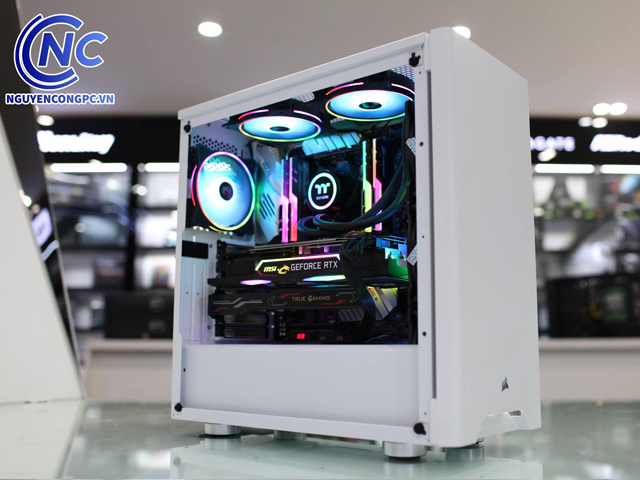 Case Corsair Carbide Series 275R Tempered Glass Mid-Tower Gaming White