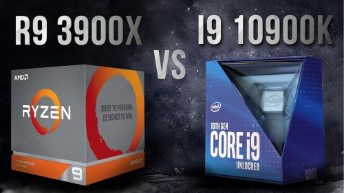 Intel i9 10900k vs AMD Ryzen 9 3900x - Test so sánh render corona 3dsmax