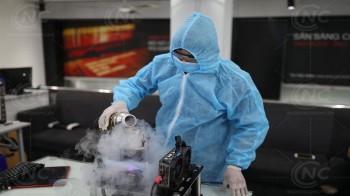 Nguyễn Công PC thực hiện ép xung vi xử lý Ryzen 3 3100 lên 5.7GHz bằng hệ thống ni tơ lỏng.