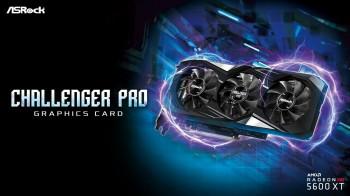 ASRock ra mắt dòng sản phẩm Radeon RX 5600 XT Challenger Pro 6G OC