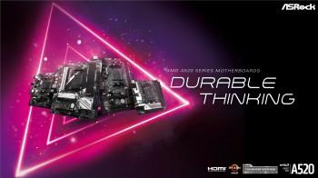 ASRock công bố dòng bo mạch chủ AMD A520 với các tính năng thời thượng nhằm hỗ trợ các vi xử lý AMD Ryzen mới nhất