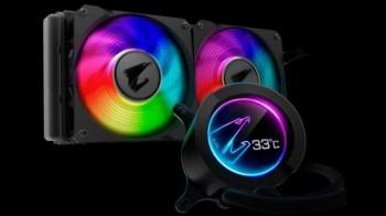 """Tản nhiệt AIO Aorus của Gigabyte có thể """"chế ngự"""" Intel Core i9-10900K ở xung nhịp 5,2 GHz"""