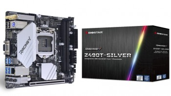BIOSTAR giới thiệu hai bo mạch chủ Z490A-SILVER and Z490T-SILVER mới của hãng.