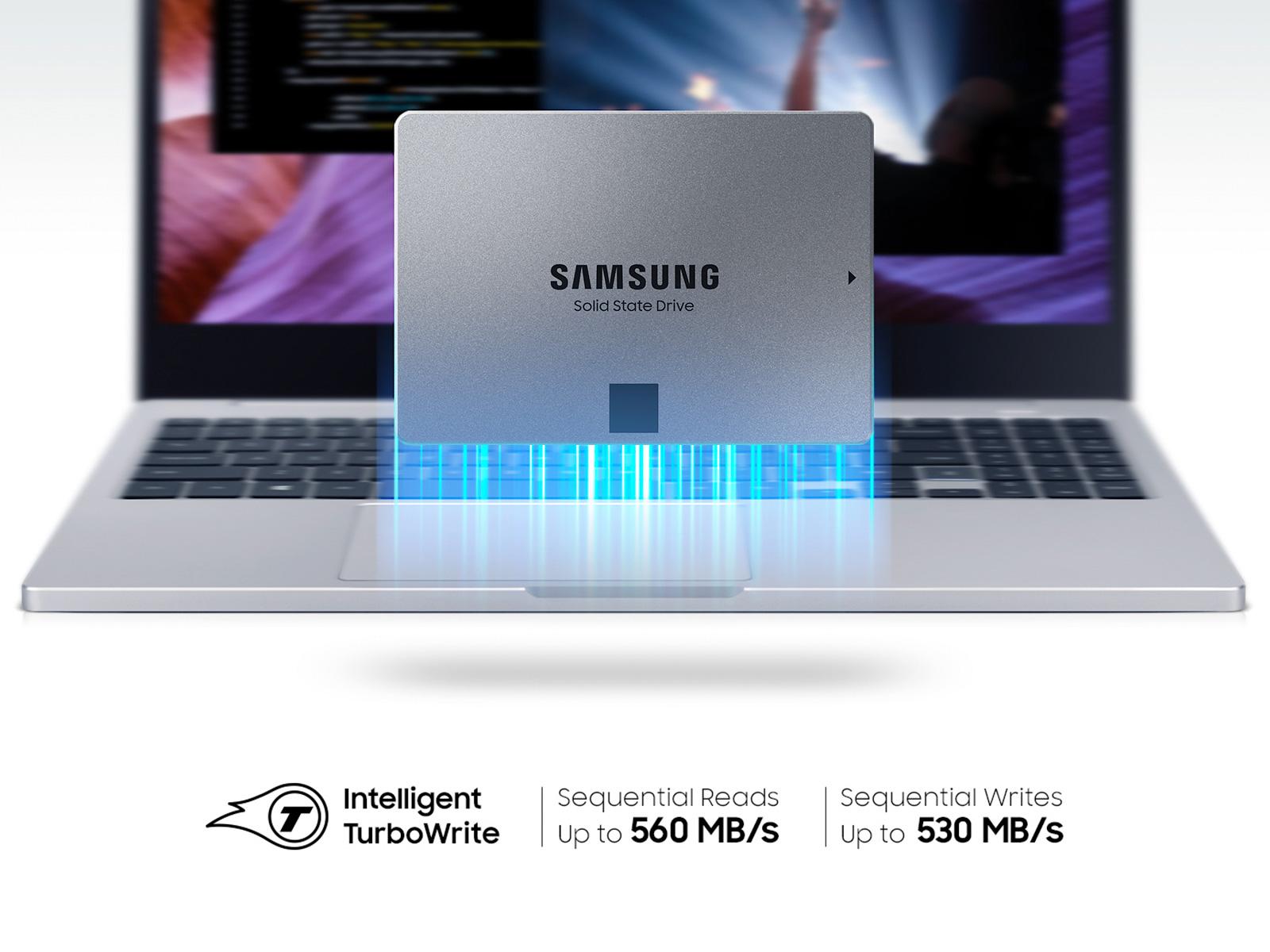 Ổ cứng SSD Samsung 870 QVO 1TB SATA III 2.5 Inch