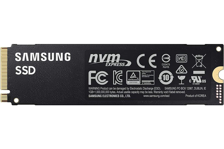 Samsung 980 PRO 250GB back