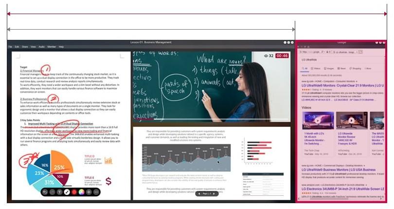 Lớp học trực tuyến với tầm nhìn rộng