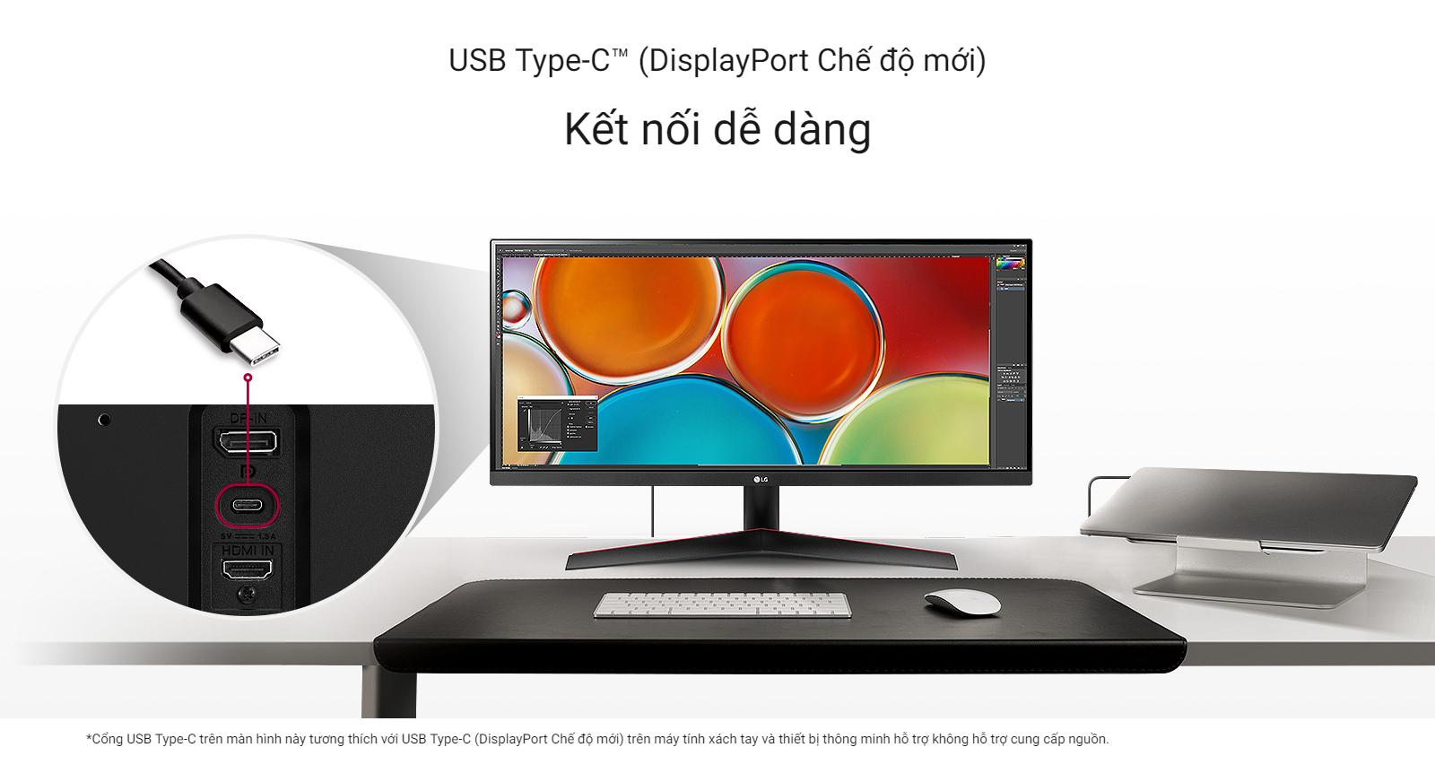 USB Type-C™ (DisplayPort Chế độ mới)