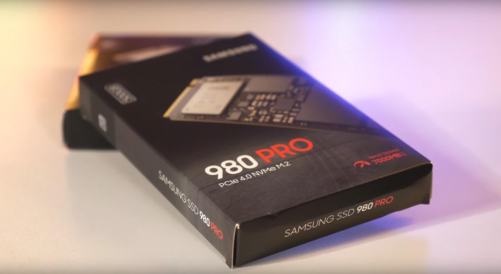 Ổ cứng SSD Samsung 980 PRO 500GB PCIe 4.0 M.2 NVMe