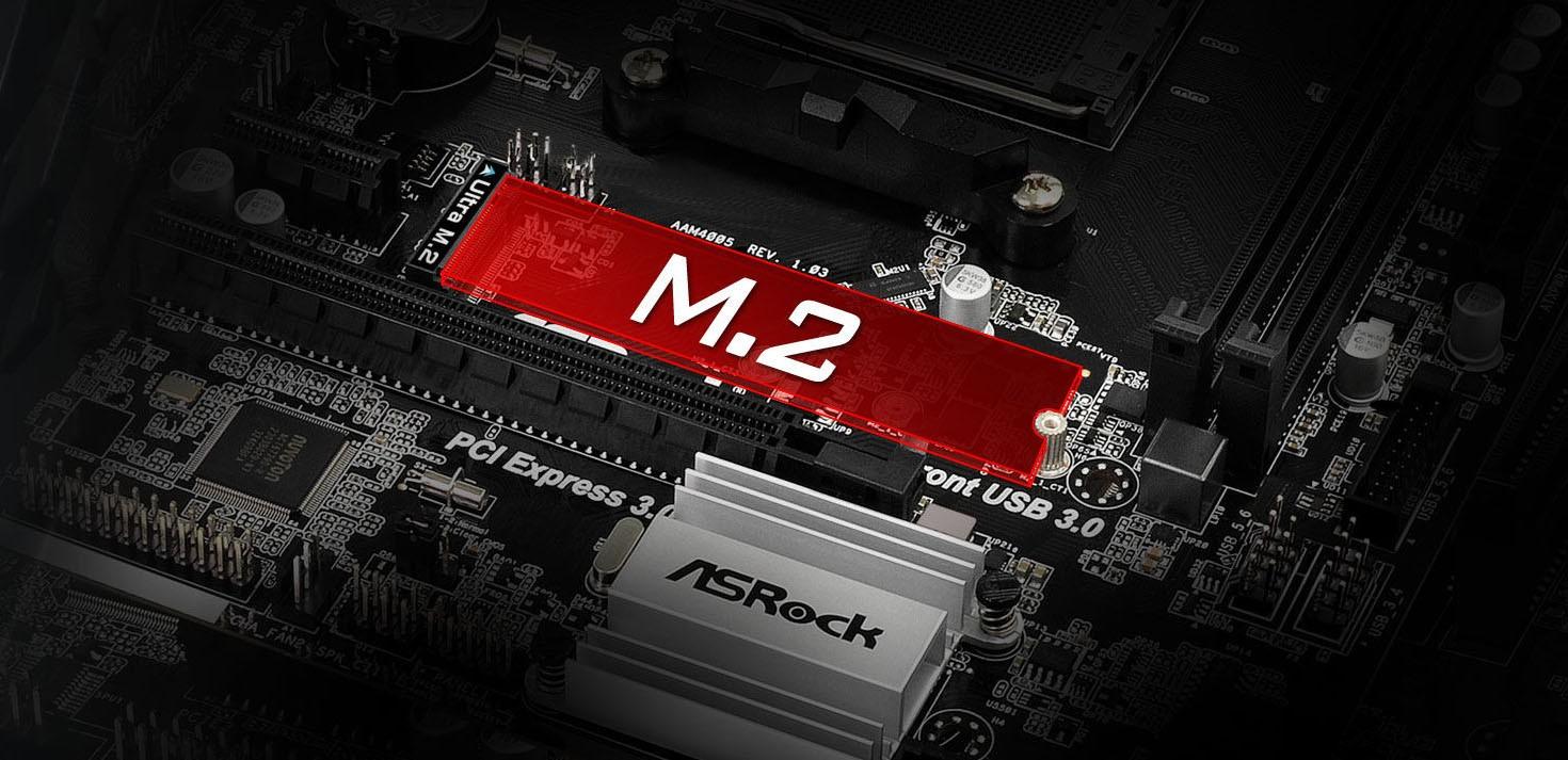 Ultra M.2 32 Gb/s