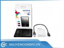 Ổ Cứng Di Động ADATA HV620S 2TB Slim and Light with USB 3.1