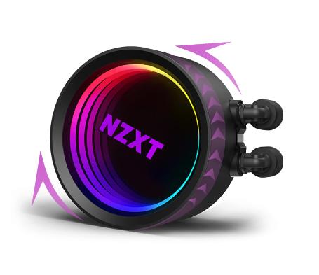 AIO NZXT Kraken X63 RGB có vòng LED lớn hơn 10%