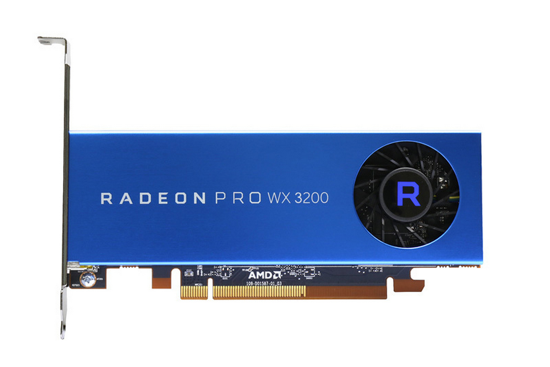 Radeon Pro WX 3200 Silent fan
