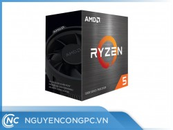 CPU AMD Ryzen 5 5600X (3.7GHz Boost 4.6GHz | 6 Nhân / 12 Luồng | 32MB Cache | PCIe 4.0)