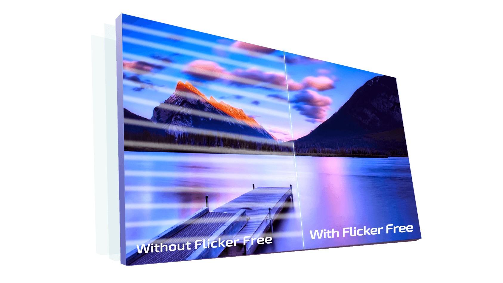 Công nghệ Flicker-Free trên AOC C27G1