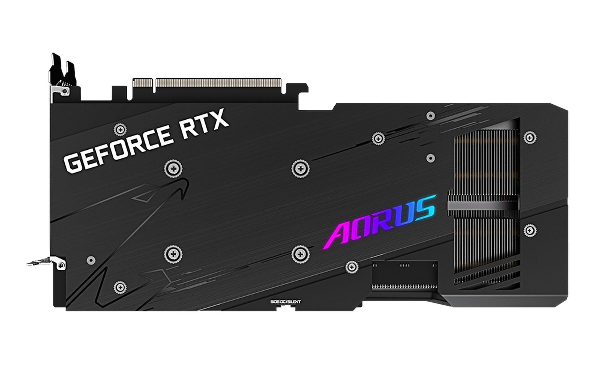 Gigabyte AORUS GeForce RTX 3070 MASTER 8G có diện tích của tản nhiệt lớn hơn