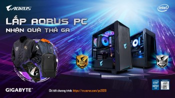 Lắp AORUS PC - Nhận quà thả ga