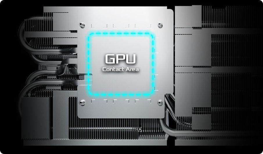 VGA ASRock Radeon RX 6800 Challenger Pro 16G OC với thiết kế tản nhiệt đế đồng mạ niken cao cấp