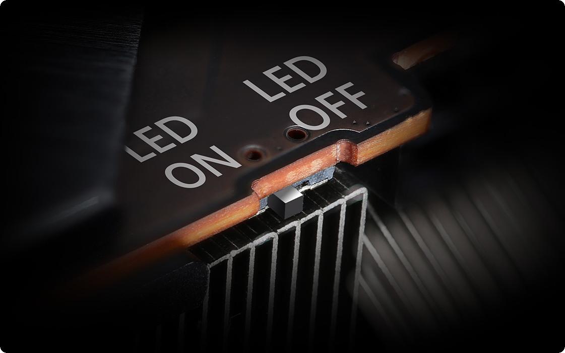Công tắc Bật - Tắt đèn LED