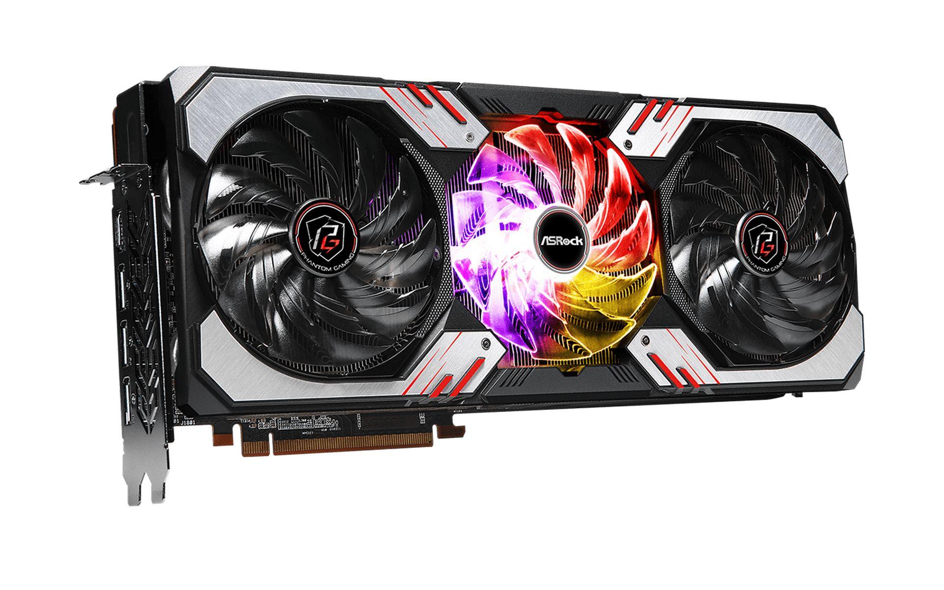 Card Đồ Họa ASRock Radeon RX 6800 XT Phantom Gaming D 16G OC
