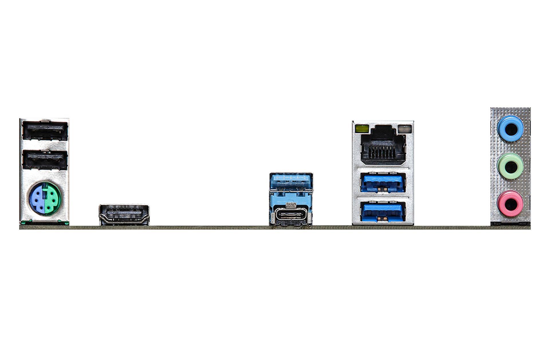 ASRock Z590 Phantom Gaming cung cấp 2 x cổng USB 3.2 Gen2